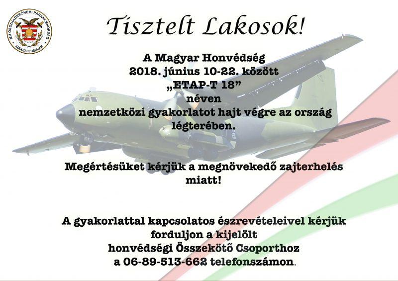 Magyar Honvédség tájékoztatója