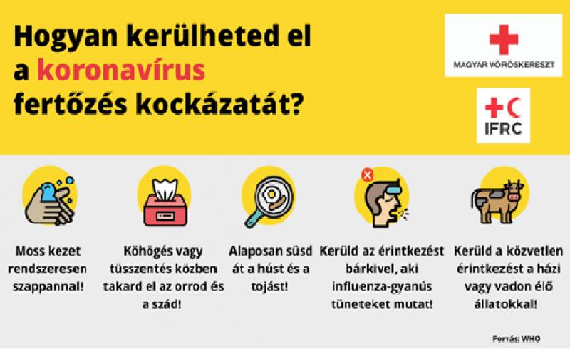 Tájékoztatás- Koronavírussal kapcsolatba